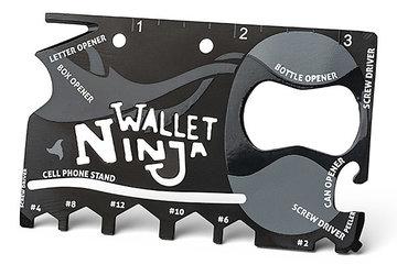 Wallet Ninja 18 in 1 MultiTool Card